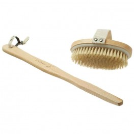Body brush, medium strength