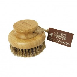 Body brush, round