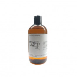 Cinnamon & apple massage oil 500mL