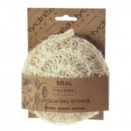 Sisal exfoliating sponge