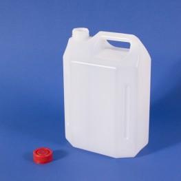 Plastic container with cap 4 Lt