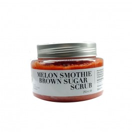 Melon smoothie brown sugar scrub, 250gr