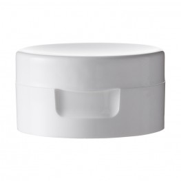 Flip top cap Rebhan, white
