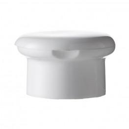 Mushroom Flip top, 28/410, white