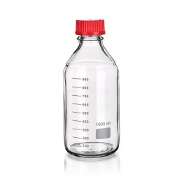 Laboratory bottle with cap 250mL