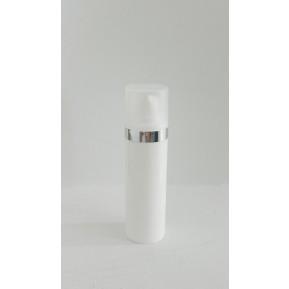 Micro 40mL, white silver cap ring