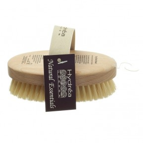 Hard strength body brush, oval