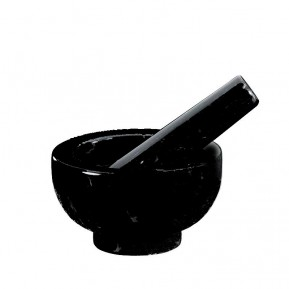 Mortar-pestle black