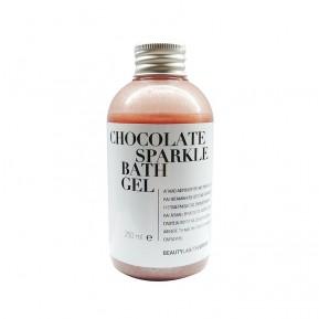 Chocolate sparkle bath gel 250mL