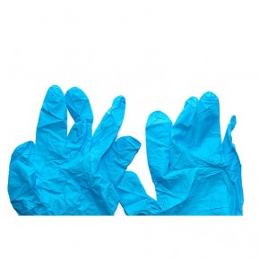 Extra durable nitrile gloves, M