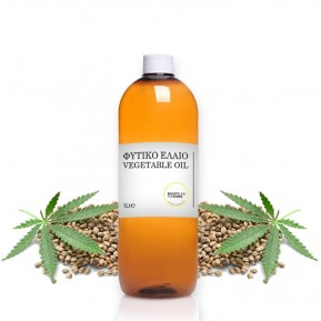 Hemp seed oil organic 1Lt