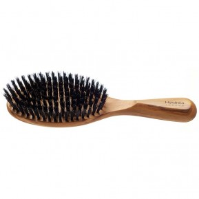 Olive wood hair brush