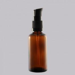 Καραμελέ Φαρμακευτικό μπουκάλι 50 ml με μαύρη αντλία