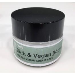 Rich & Vegan βάση κρέμα πλούσιας υφής F-0070 45 gr