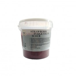 Strawberry fudge salty scrub, 1kg
