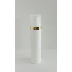 Micro 40mL, λευκό με χρύσο επιμεταλλωμένο δαχτυλίδι