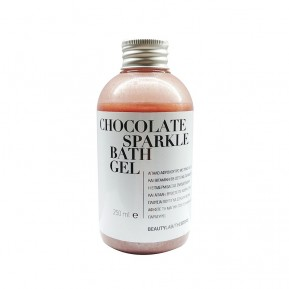 Chocolate sparkle bath gel 250mL