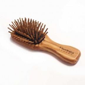 Βούρτσα μαλλιών από ξύλο ελιάς travel size